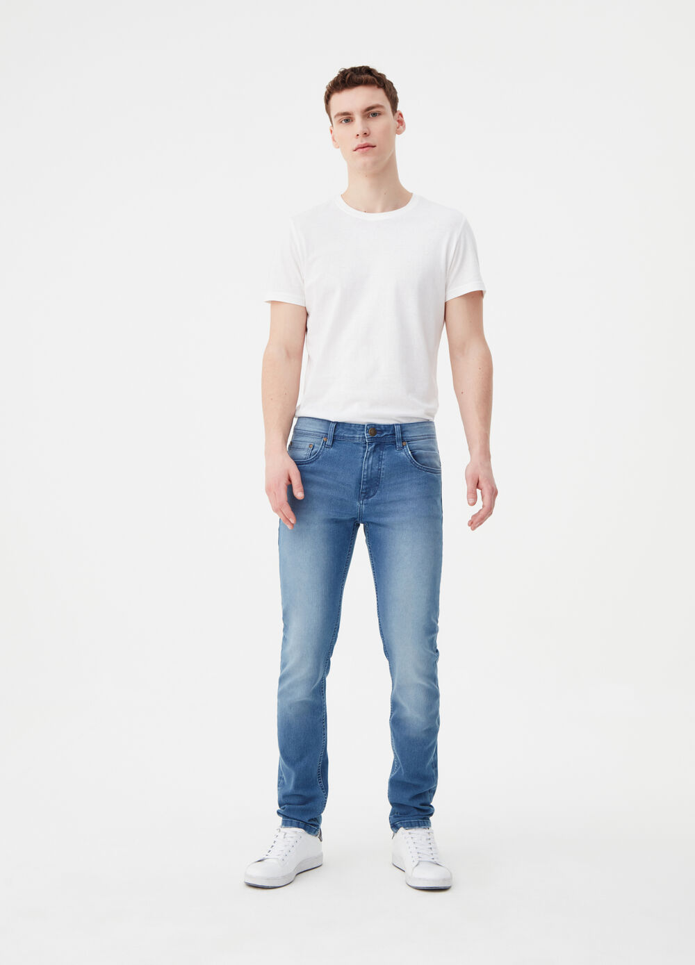 Super-skinny-fit stretch jeans