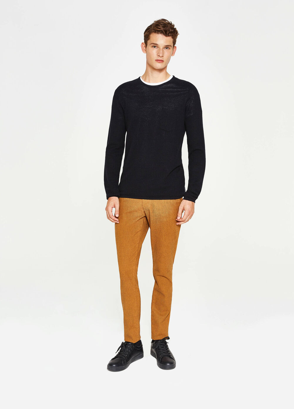 Pantalon chino slim fit stretch