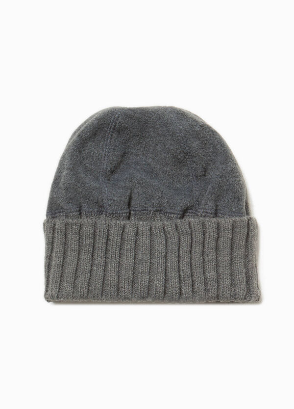 Beanie cap in fleece