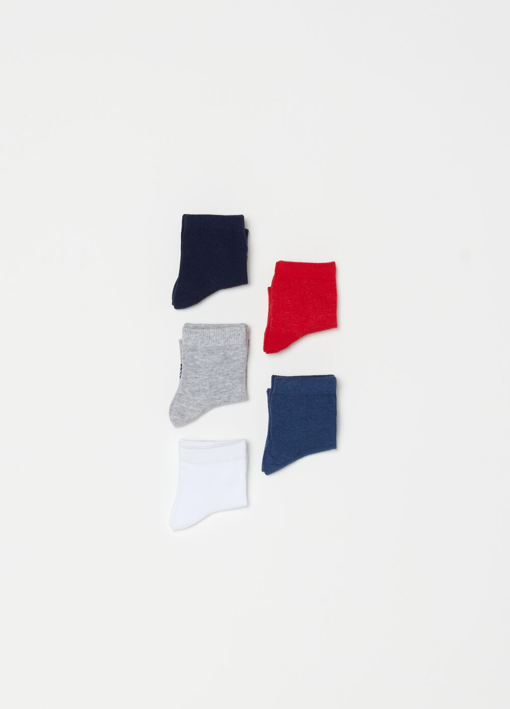 Five-pack stretch short socks