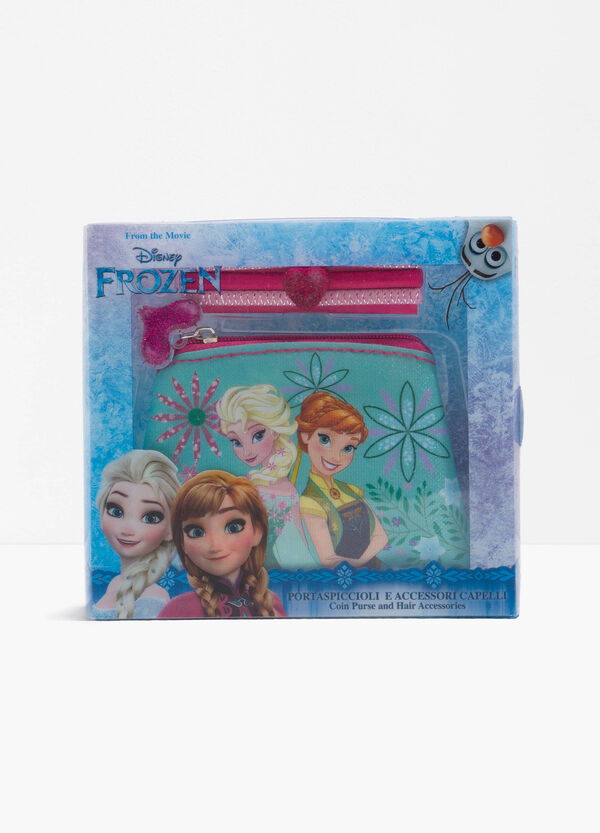 Frozen case and three hair elastics set | OVS