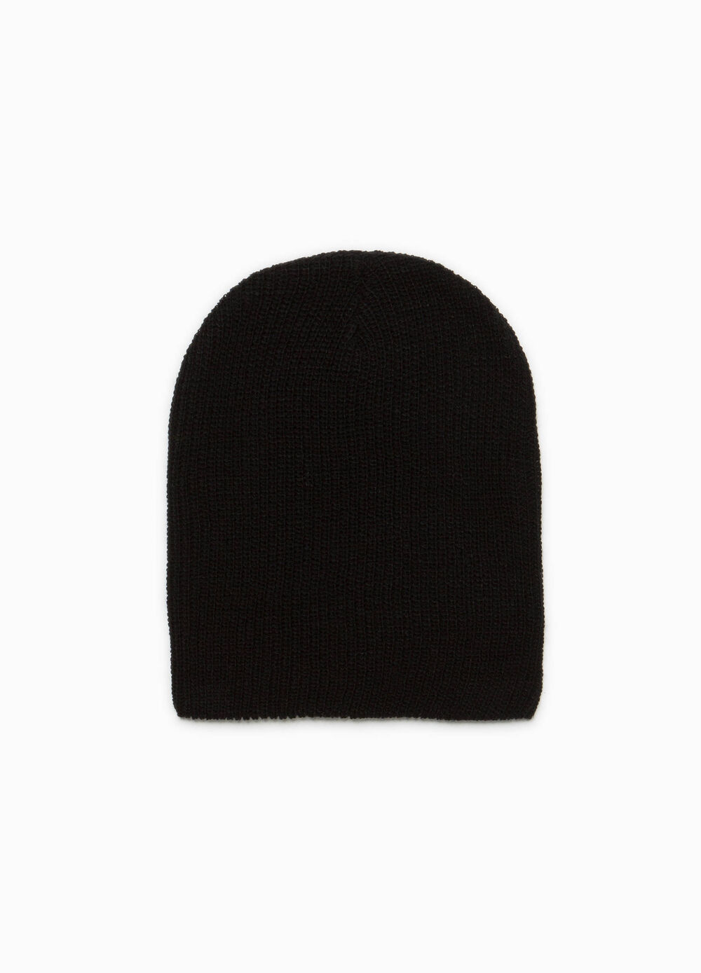 Solid colour beanie cap