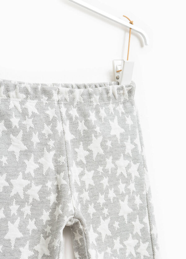 Stretch leggings with stars | OVS