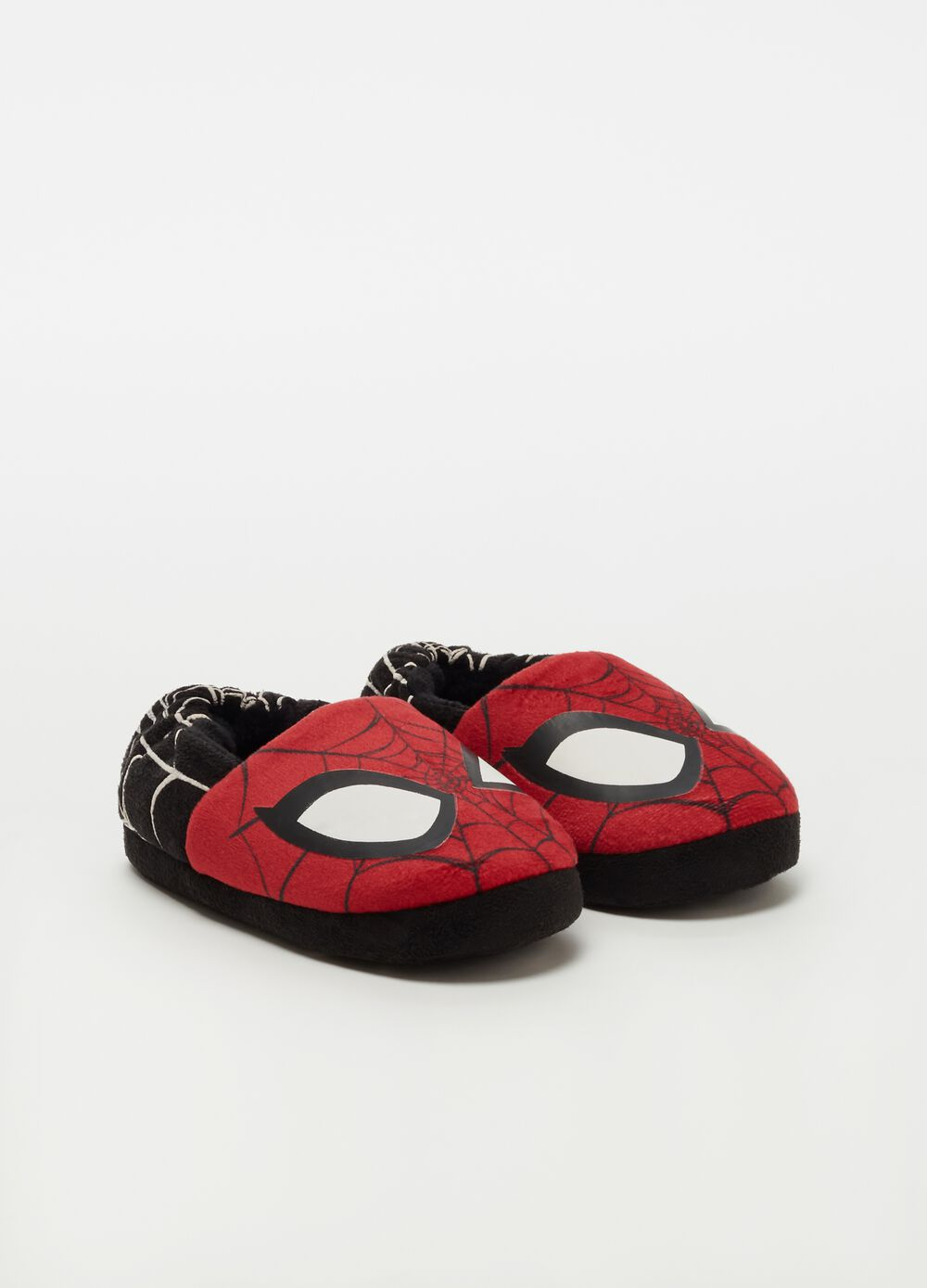 Slippers with Marvel Spider-Man pattern
