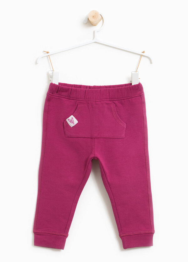 100% cotton trousers with pouch pocket | OVS
