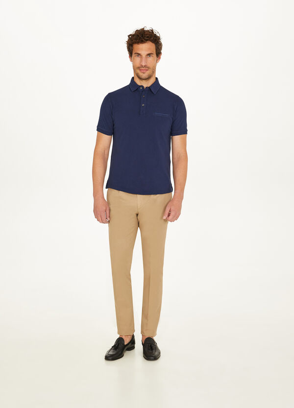 Rumford piquet polo shirt with pocket