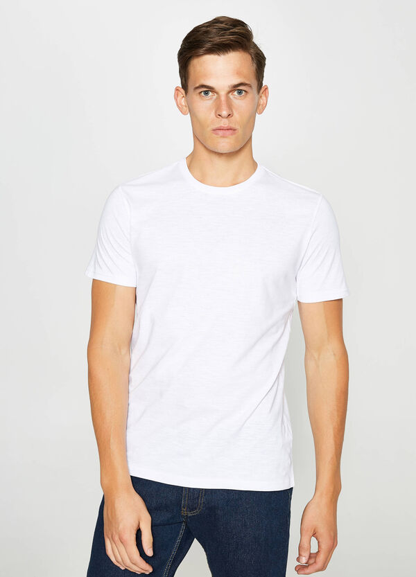 Two-pack cotton slub T-shirts | OVS