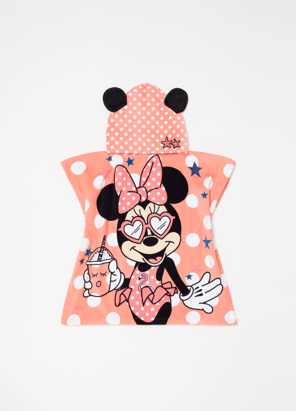 Disney Baby Minnie Mouse polka dot bathrobe