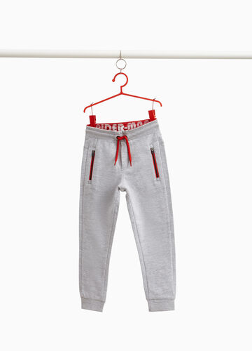 Spiderman joggers in cotton blend