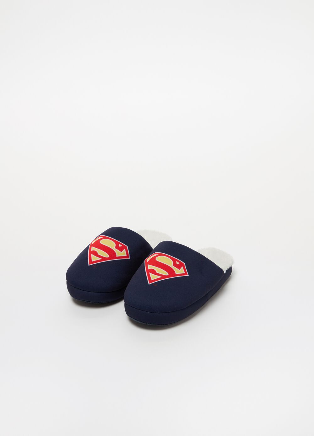 Warner Bros Superman slippers