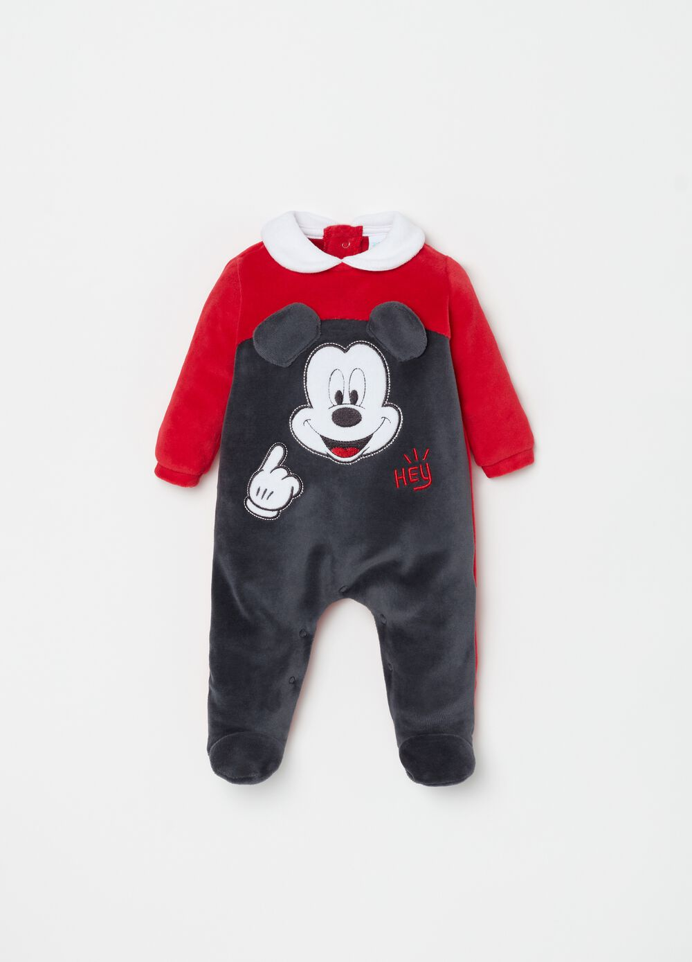 Disney Mickey Mouse onesie with feet