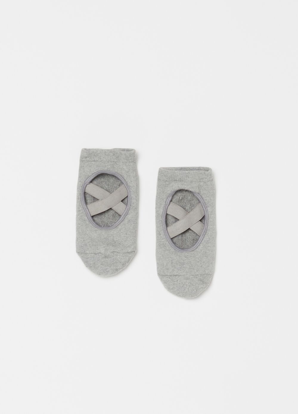 Slipper socks in organic cotton