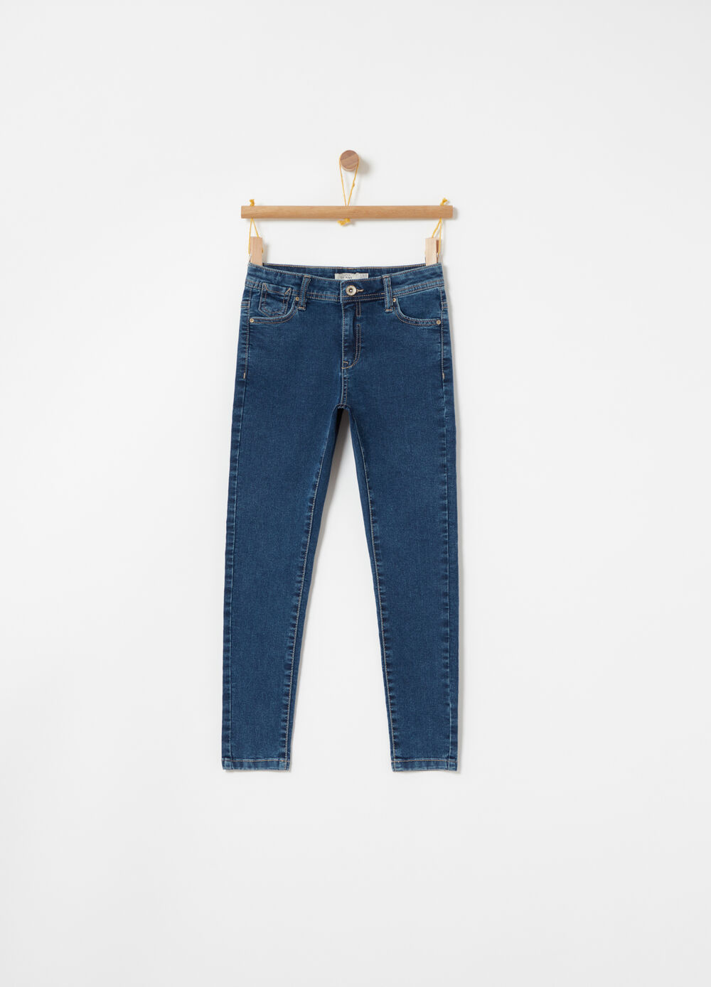 Superskinny jeans in lightweight denim