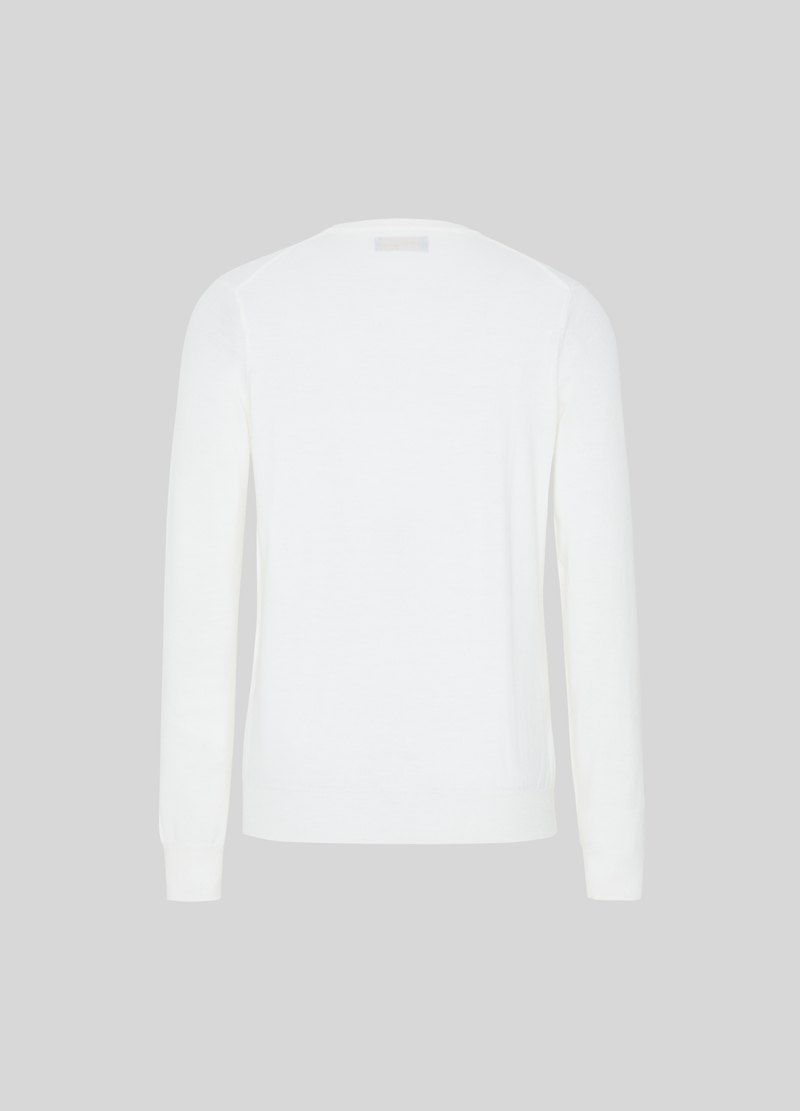 PIOMBO merino wool pullover with crew neck image number null