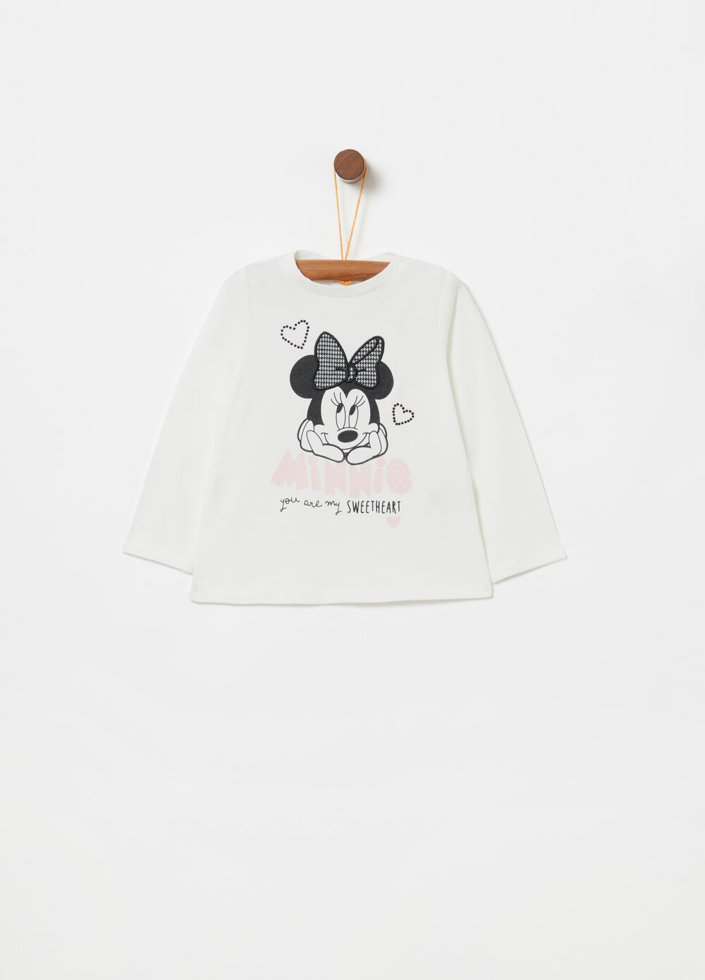 Disney Minnie Mouse T-shirt with long sleeves
