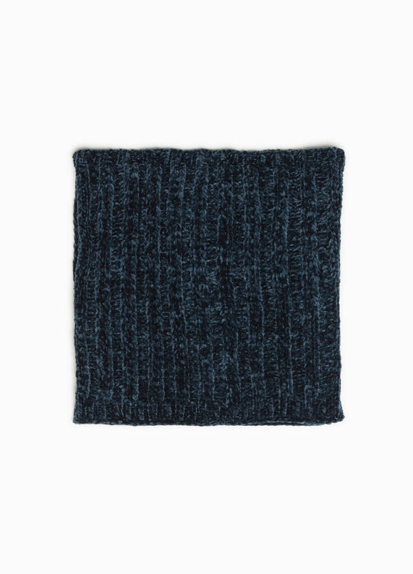 Knitted chenille neck warmer | OVS
