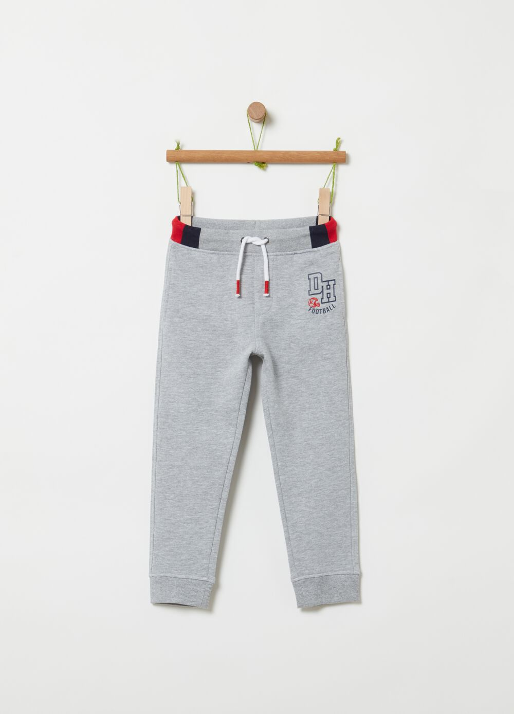 French terry jogger trousers
