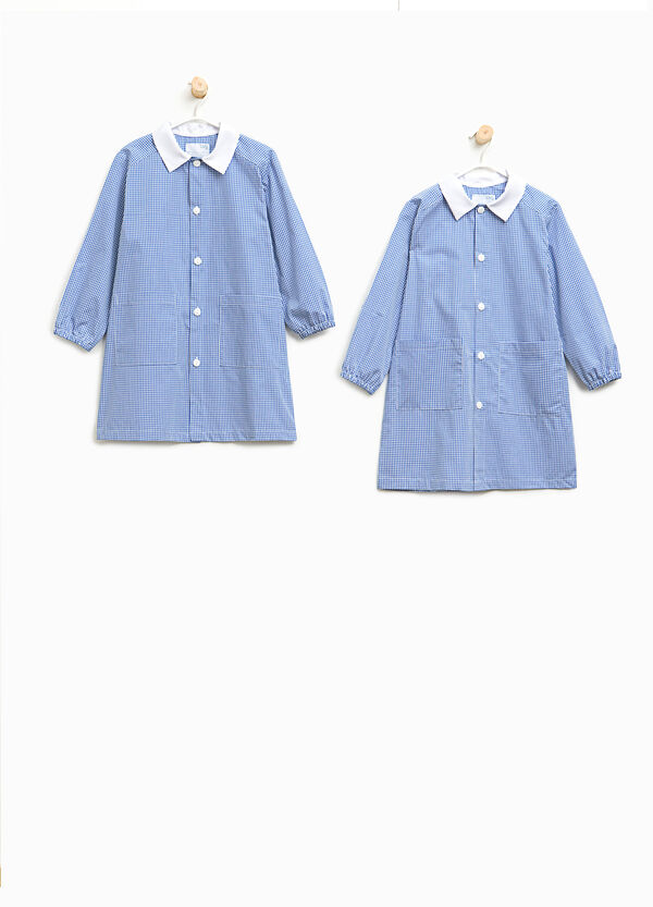 Two-pack micro-check smocks | OVS