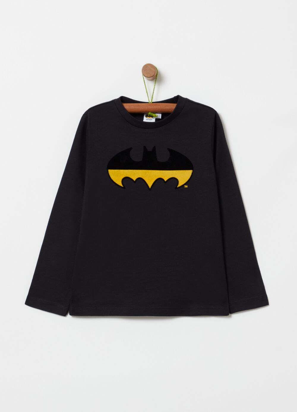 100% cotton T-shirt with Batman print