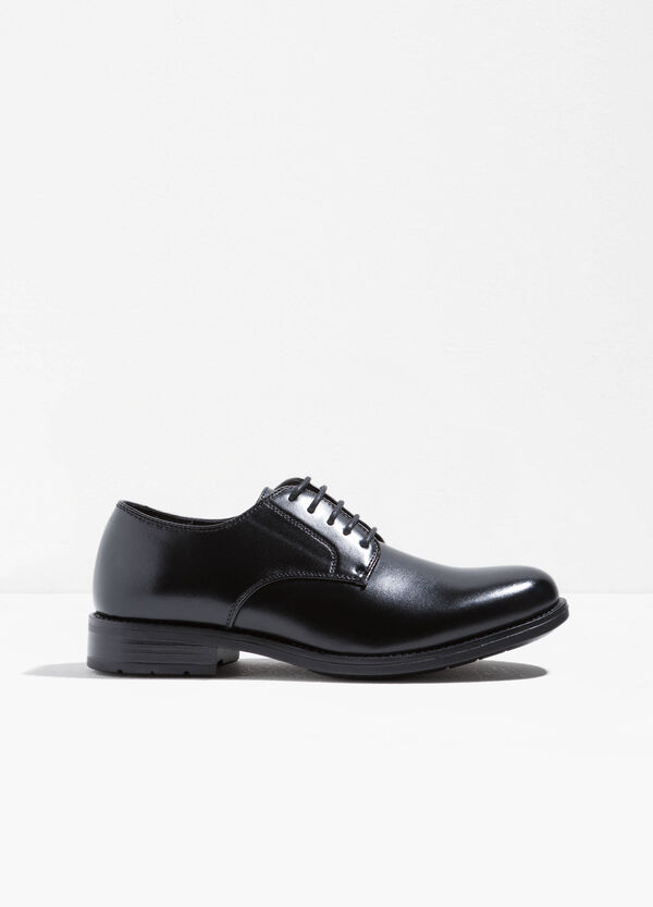 Derby-style patent shoes | OVS