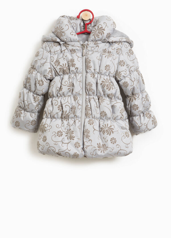 Floral jacket with hood | OVS