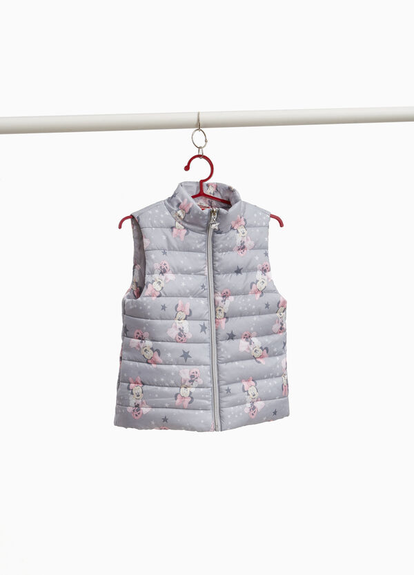 Minnie Mouse all-over print padded gilet