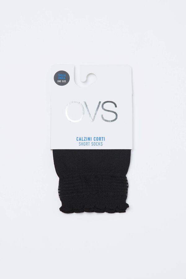 Solid colour stretch pop socks | OVS