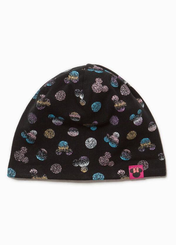 Minnie Mouse-pattern beanie cap | OVS
