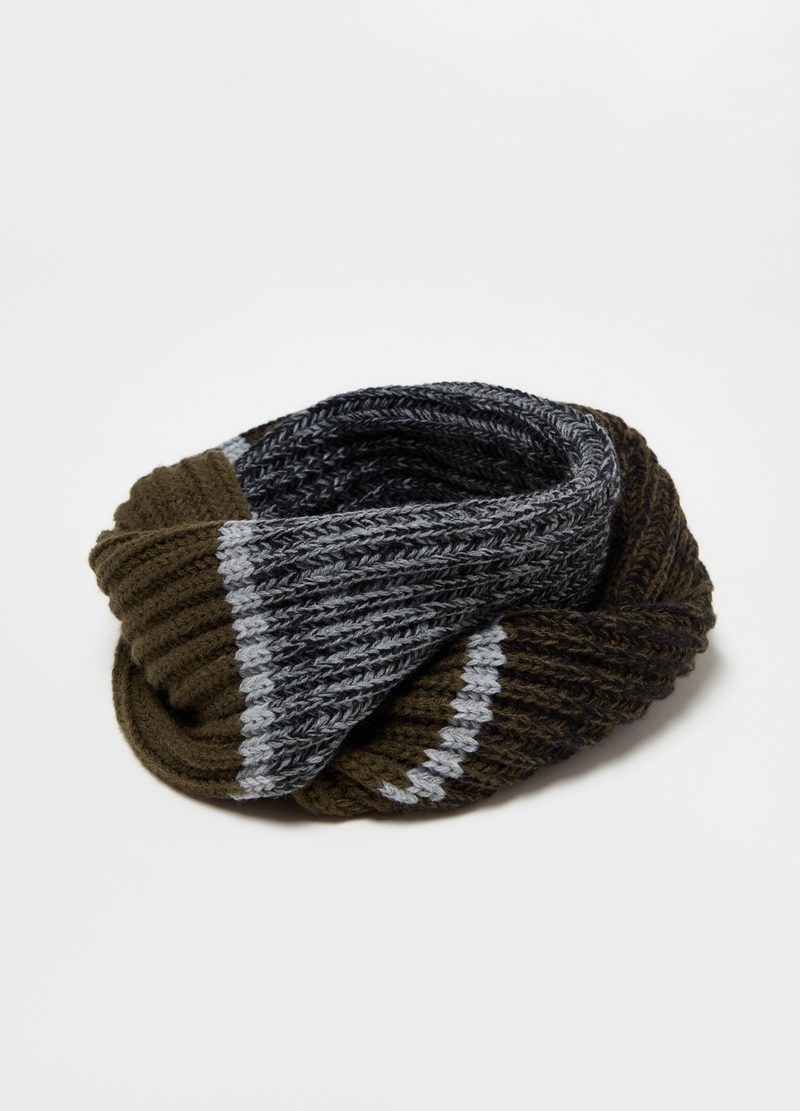 Ribbed neck warmer image number null