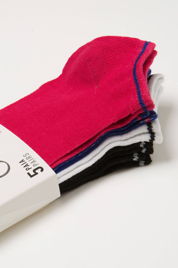 Five-pack stretch socks | OVS