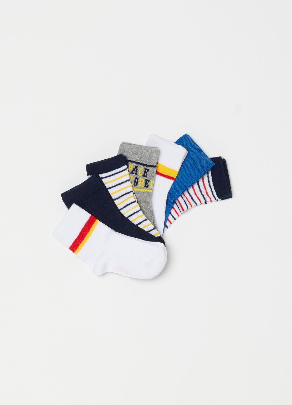 Seven-pack stretch socks