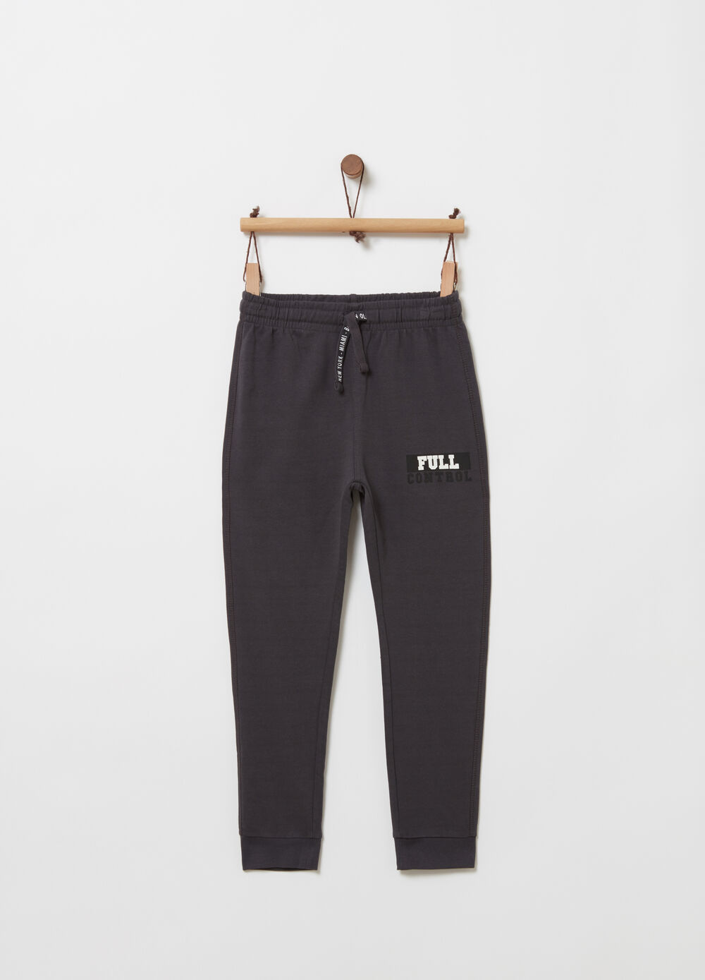 Pantaloni regular fit con tasca sul retro