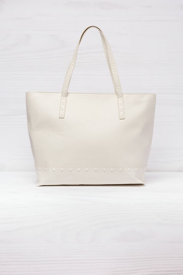 Solid colour shopping bag