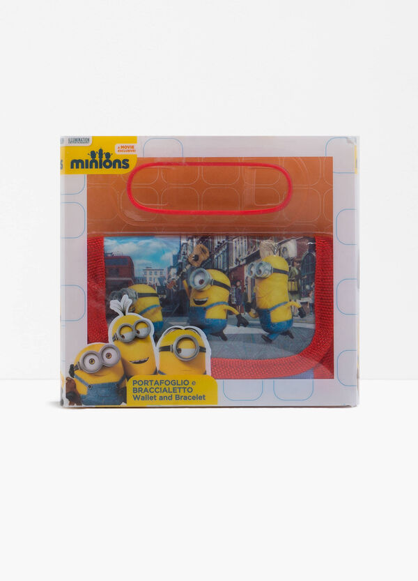 Minions wallet and bracelet set | OVS