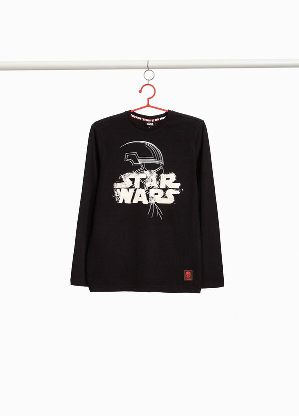 Star Wars print 100% cotton T-shirt