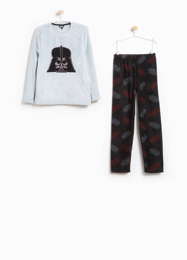 Pyjamas with Star Wars pattern and patch