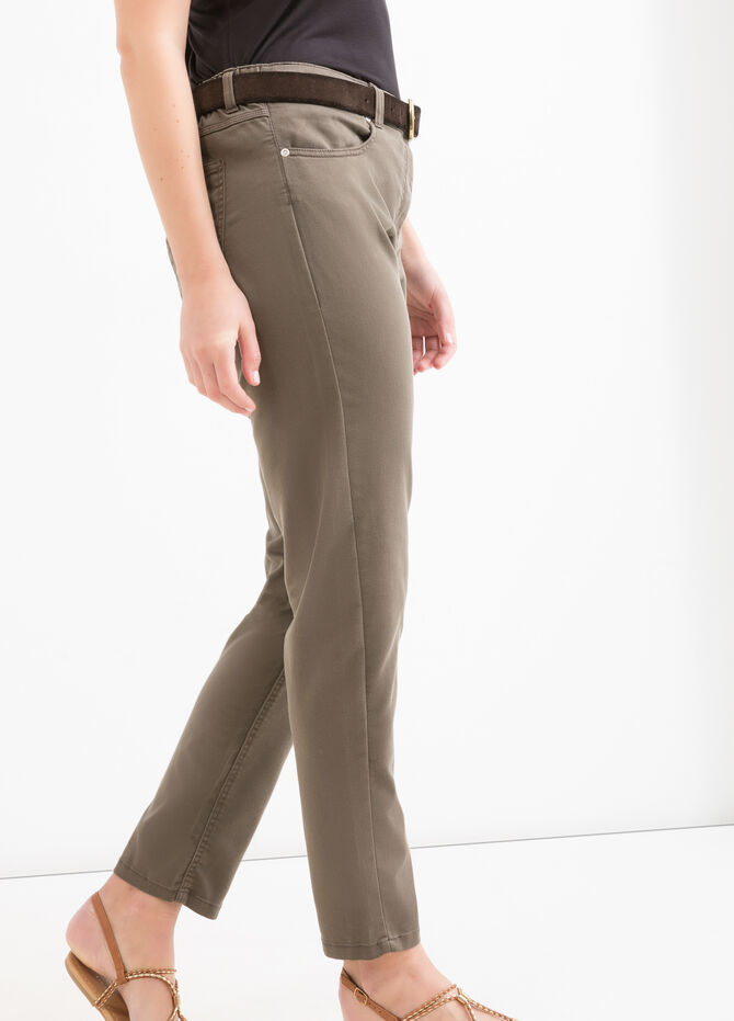 Curvy plain stretch jeggings