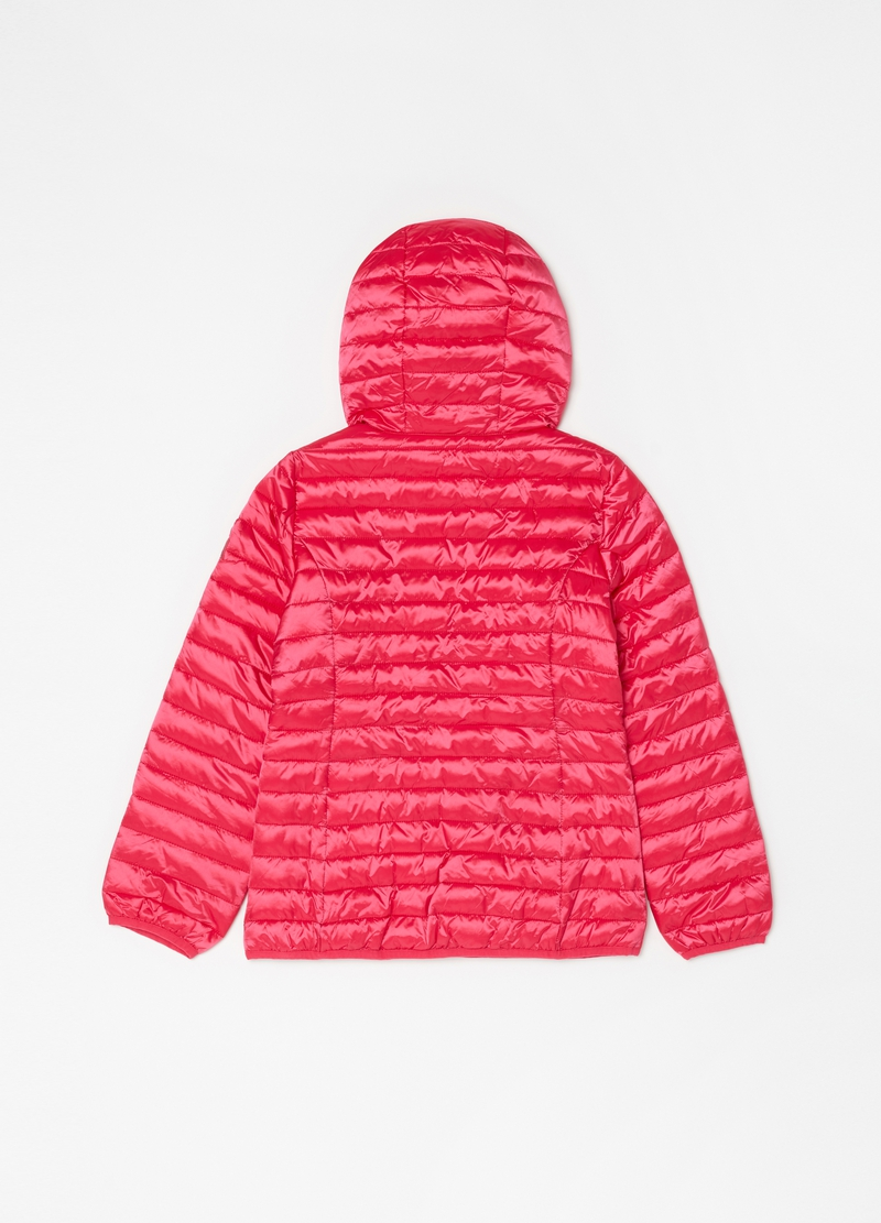 Padded and quilted jacket with zip image number null
