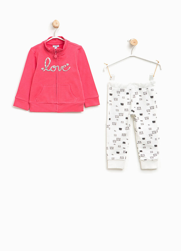 Crown patterned outfit   OVS