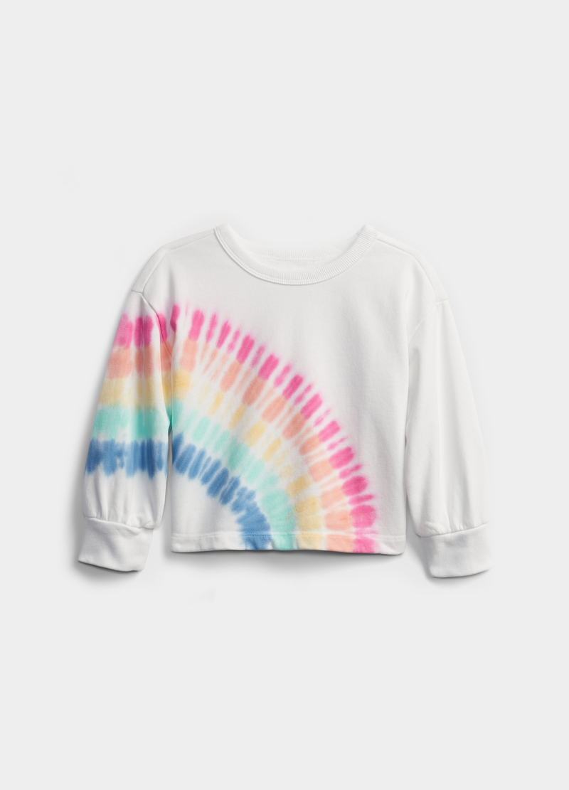 GAP sweatshirt with Tie Dye pattern image number null