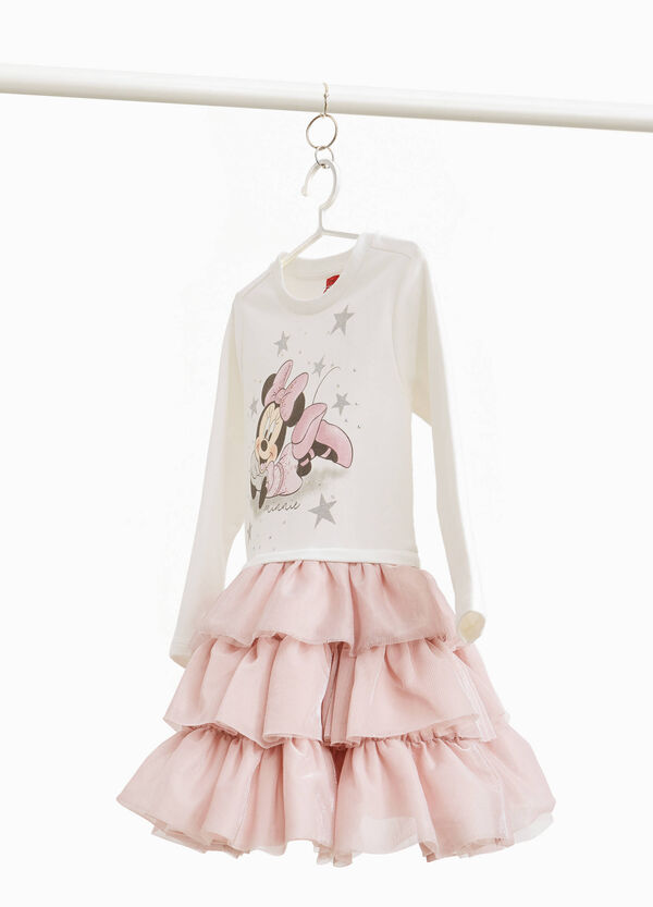 Petite robe en coton stretch Minnie
