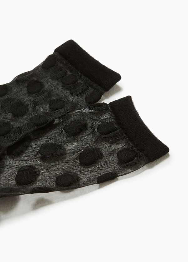 Two-pair pack short stretch socks