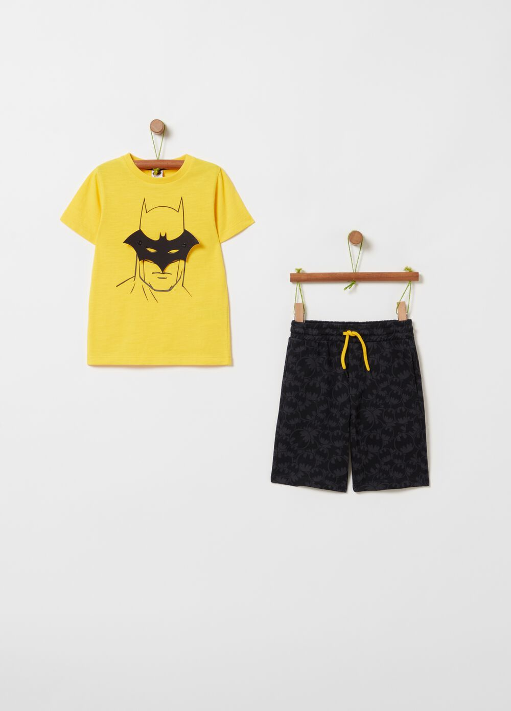 Batman jogging set with print and pattern
