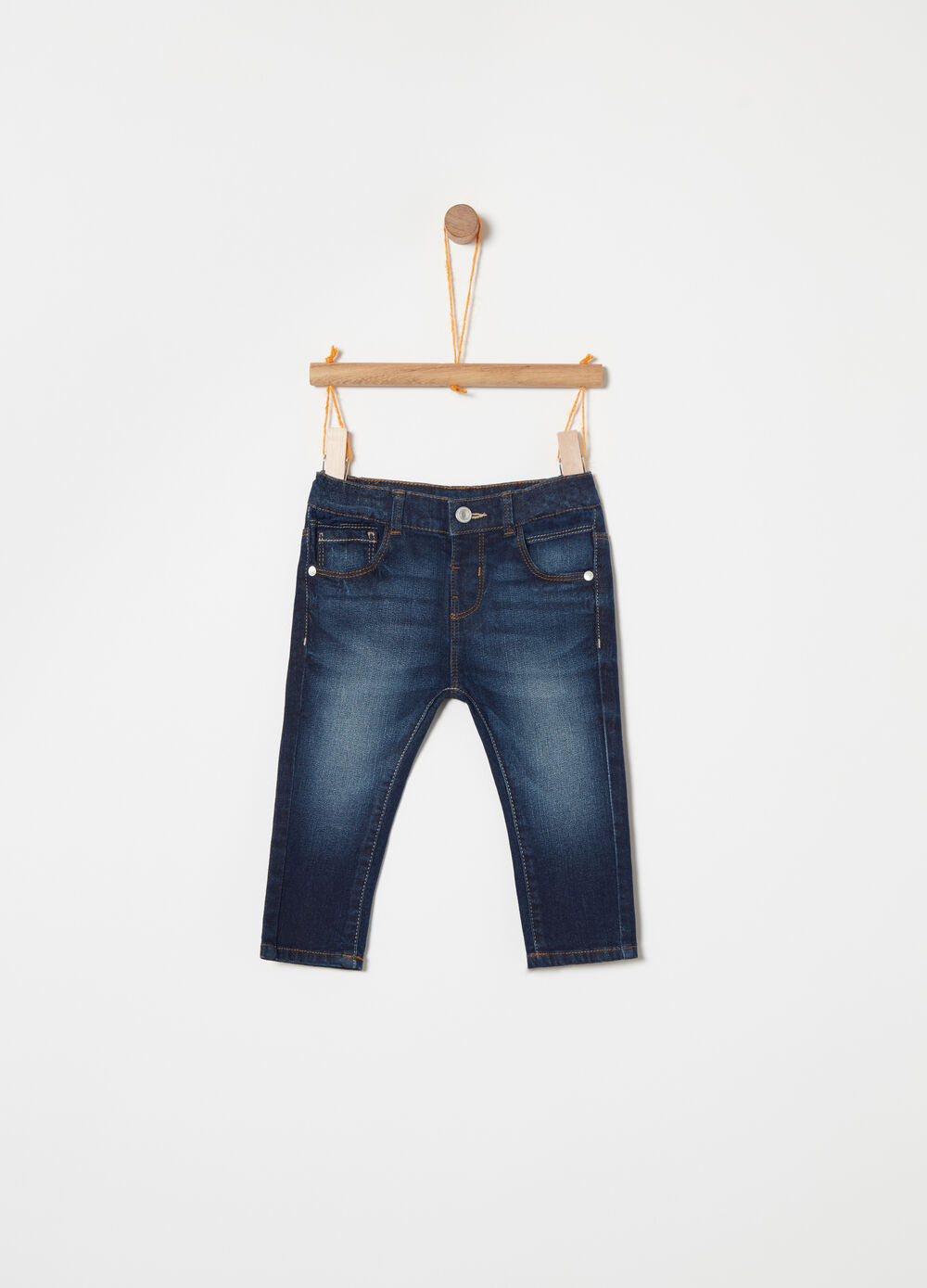 Jeans regular fit stretch used