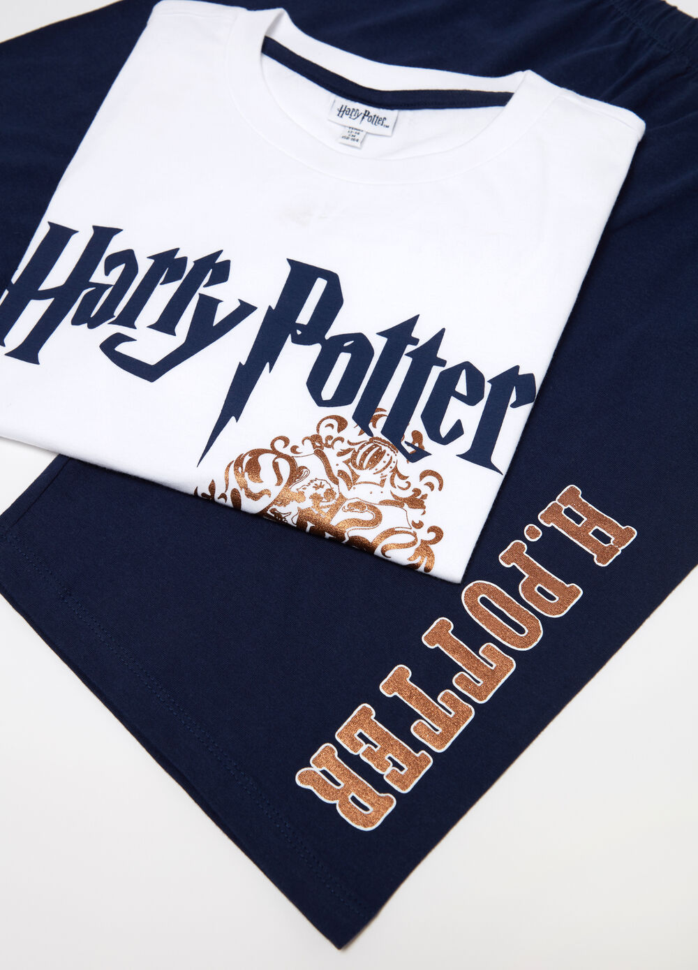 Pijama corto biocotton Harry Potter