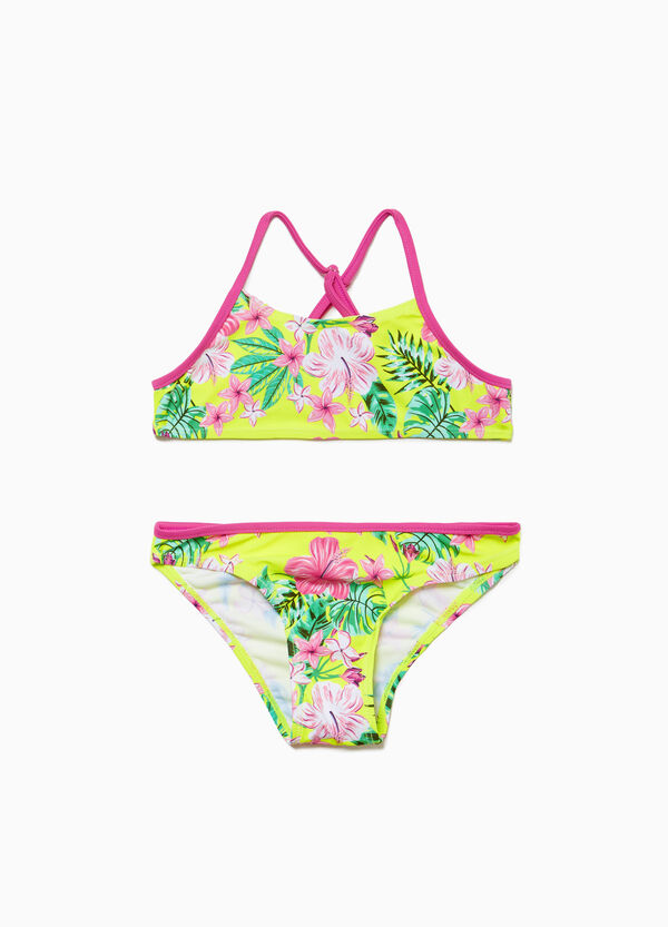 Bikini stretch fantasia floreale