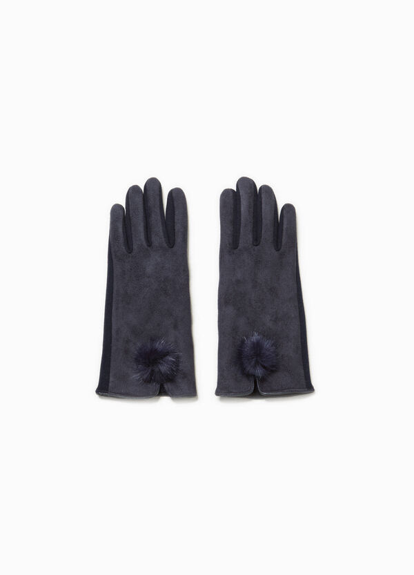 Long gloves with pompoms | OVS
