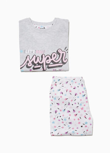 Cotton pyjamas with Soy Luna print