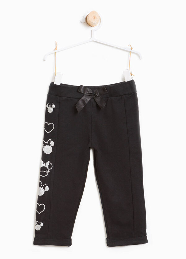 Pantaloni cotone stretch stampa Minnie | OVS