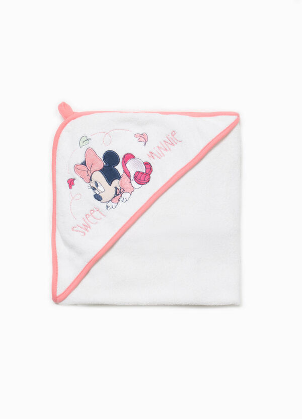 Cotton blend Minnie Mouse bathrobe | OVS